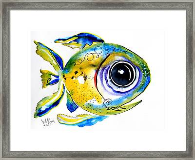 Stout Lookout Fish Framed Print