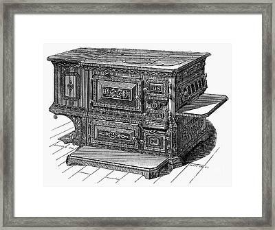 Stove, 1876 Framed Print