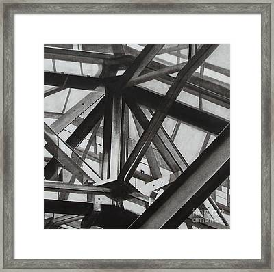 St.pancras  Framed Print by Drew  Ward