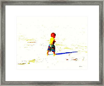 Straight Ahead To A Wonderful World Framed Print by Brian D Meredith