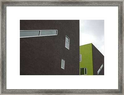 Straight Lines Framed Print
