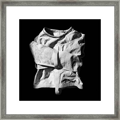 Strait Jacket Framed Print