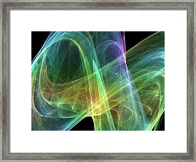 Strange Attractor, Artwork Framed Print