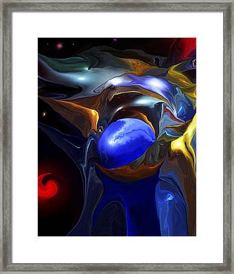 Strange Attractors Framed Print