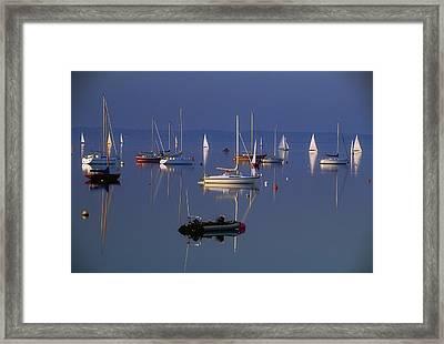 Strangford Lough, Co Down, Ireland Framed Print