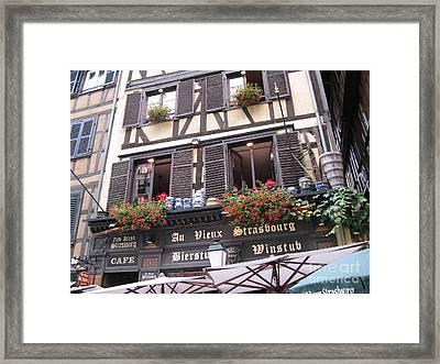 Strasbourg Framed Print by Arlene Carmel