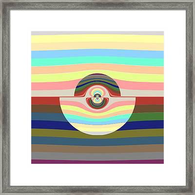 Strata Framed Print by Paul Moss