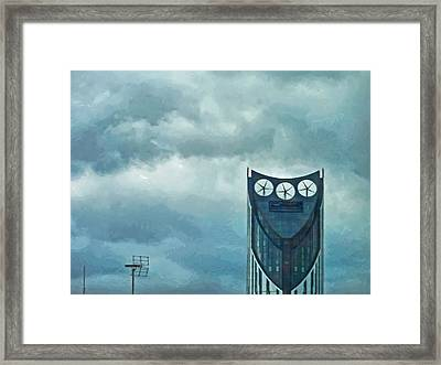 Strata Tower In London Framed Print