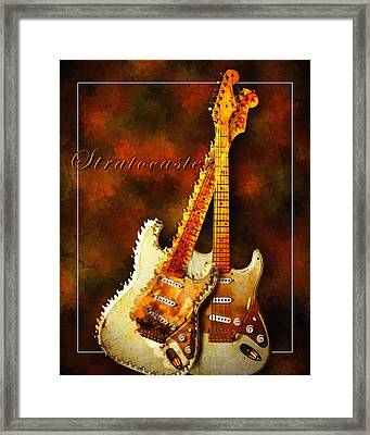 Stratocaster Framed Print by Robert Smith