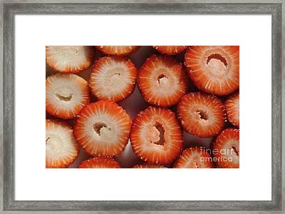 Strawberry Bliss Framed Print