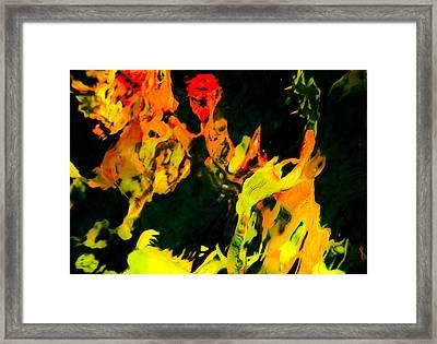 Streaker Framed Print by Chua  ChinLeng