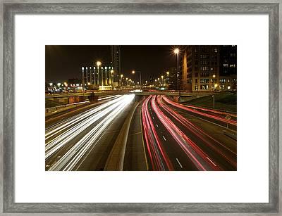 Streakin Framed Print by Sheryl Thomas