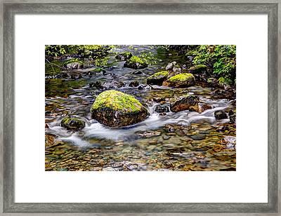 Stream Hdr Framed Print