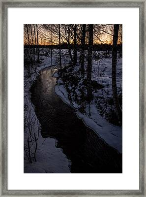 Framed Print featuring the photograph Stream by Matti Ollikainen