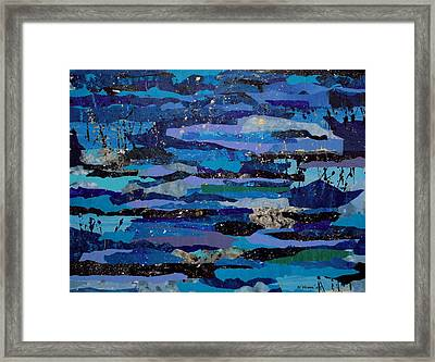 Streaming Events Framed Print