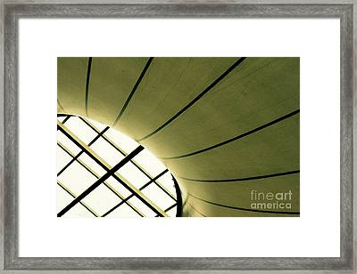 Streaming Light Framed Print by Vishakha Bhagat