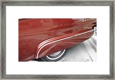 Streamline Framed Print