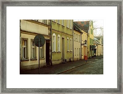Street 2 Framed Print by Marcin and Dawid Witukiewicz