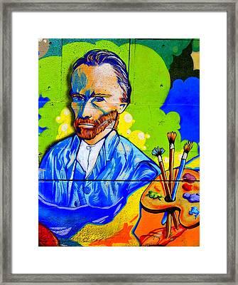 Street Art Van Gogh 1 Framed Print by Randall Weidner