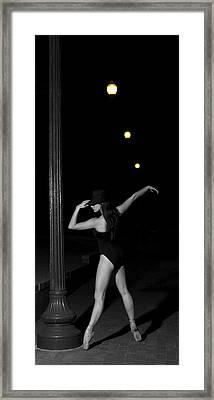 Street Ballet Framed Print
