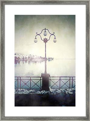 Street Lamp Framed Print by Joana Kruse