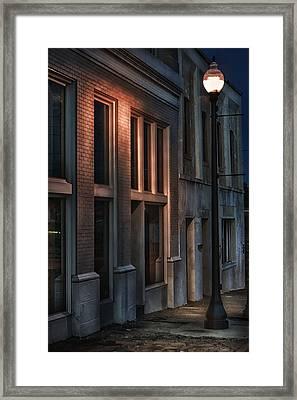 Street Light Framed Print by Brenda Bryant