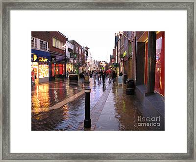 Street Scene Outside Windsor Castle Framed Print by Jack Schultz