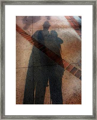 Street Shadows 002 Framed Print by Lon Casler Bixby