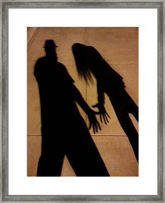 Street Shadows 006 Framed Print