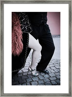Street Tango Framed Print