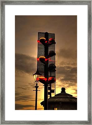 Street Wise Framed Print by Barry R Jones Jr