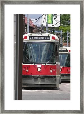 Streetcars 21379 Framed Print