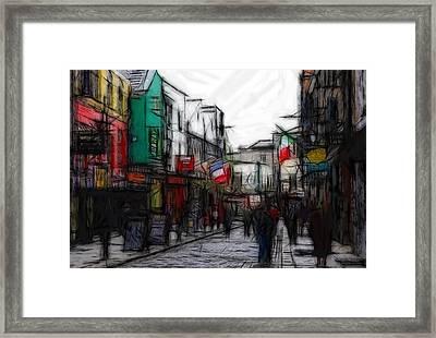 Streetlife Framed Print by Steve K