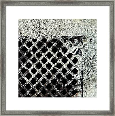 Streets Of Coronado Island 12 Framed Print by Marlene Burns