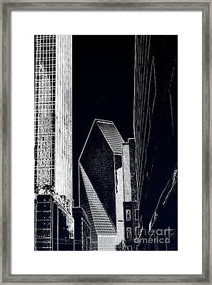 Streets Of Dallas Framed Print by Joe Finney