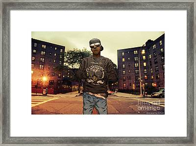 Streets Of Iraq Framed Print by Tuan HollaBack