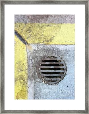 Streets Of La Jolla 12 Framed Print by Marlene Burns