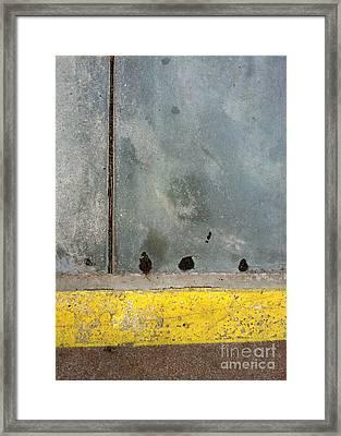 Streets Of La Jolla 14 Framed Print by Marlene Burns