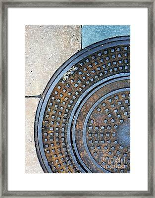 Streets Of La Jolla 2 Framed Print by Marlene Burns