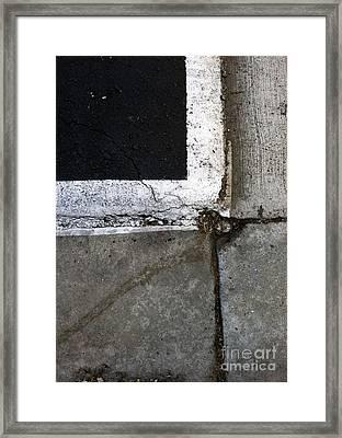 Streets Of La Jolla 4 Framed Print by Marlene Burns
