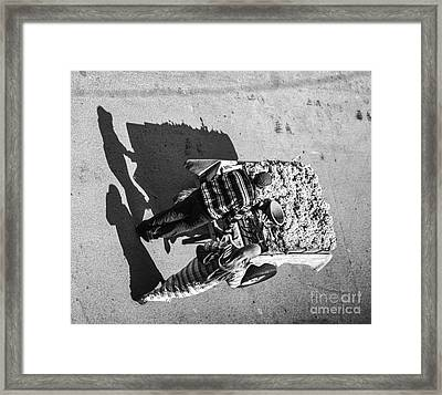 Streets Of Morocco I Framed Print by Chuck Kuhn