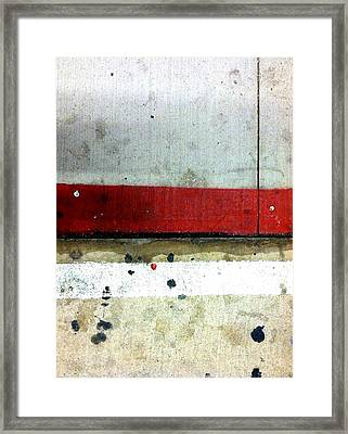 Streets Of New York Abstract Eight Framed Print by Marlene Burns