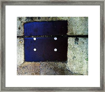 Streets Of New York Abstract Four Framed Print by Marlene Burns