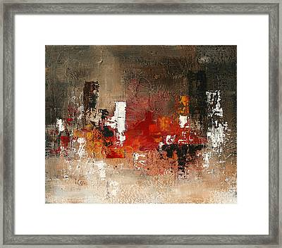 Streets Of Passion Framed Print by Germaine Fine Art