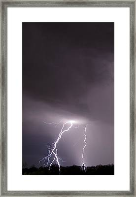 Framed Print featuring the photograph Strike by John Crothers