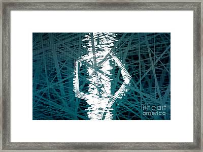 String Box Framed Print by Tashia Peterman