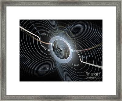 String Quartet Framed Print by Andee Design
