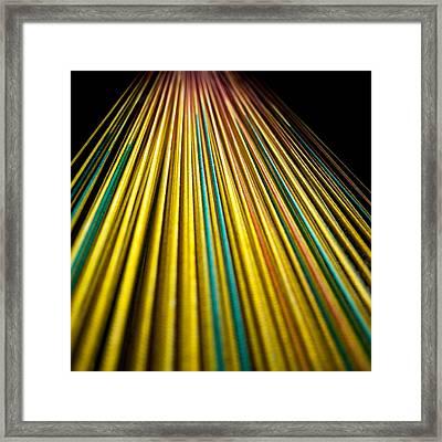 String Theory Framed Print by Hakon Soreide