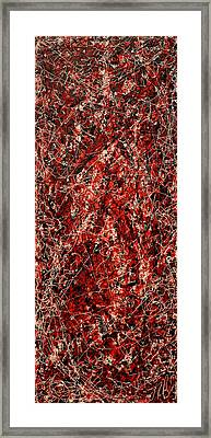 String Theory Number 8 Framed Print by Joe Michelli