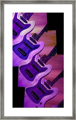 Strings Framed Print by Mark Moore